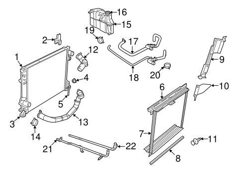 Radiator Drain Plug for 2015 Dodge Challenger|4644269