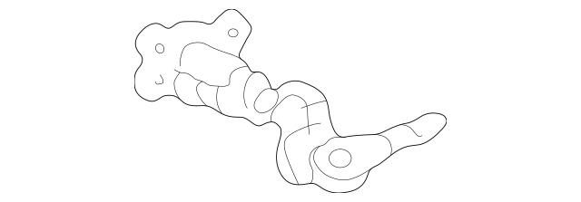 2001-2006 Acura MDX 5-DOOR Cylinder, L Door 72185-S3V-A01