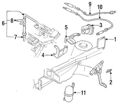 OEM 1993 Buick Skylark Cruise Control Parts