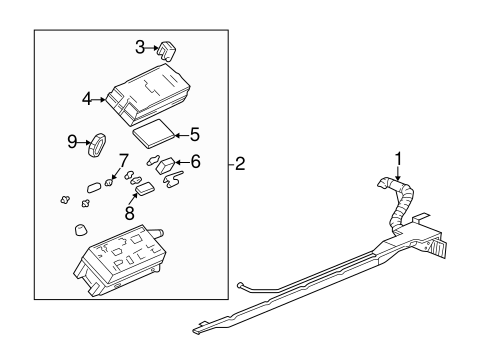 Fuel System Components for 1999 Cadillac Seville