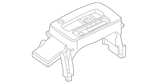 2006 Lincoln Zephyr Shift Indicator 6H6Z-7D443-A