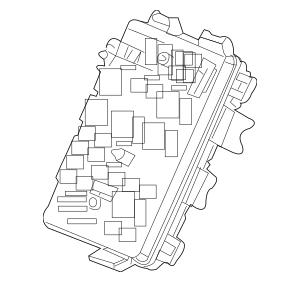2007-2009 Buick LaCrosse Junction Block 25918681