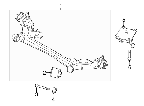 AXLE COMPONENTS for 2016 Ford Transit Connect