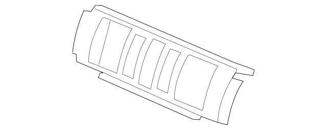 Genuine 2012-2015 Honda PILOT 5-DOOR Garnish Assembly