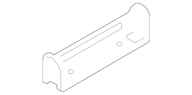 Genuine Floor Console Front Bracket for Ford Part# JL7Z