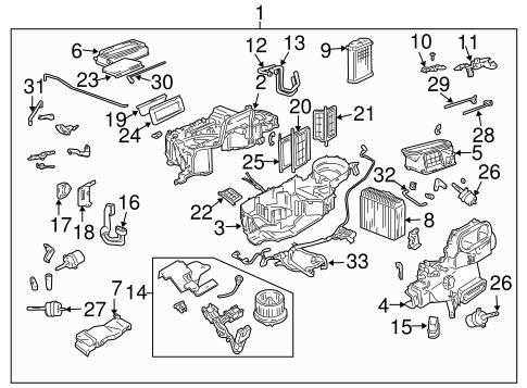 Condenser, Compressor & Lines for 2006 Pontiac GTO