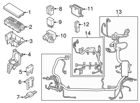 Ford Edge Wiring Harness : 24 Wiring Diagram Images