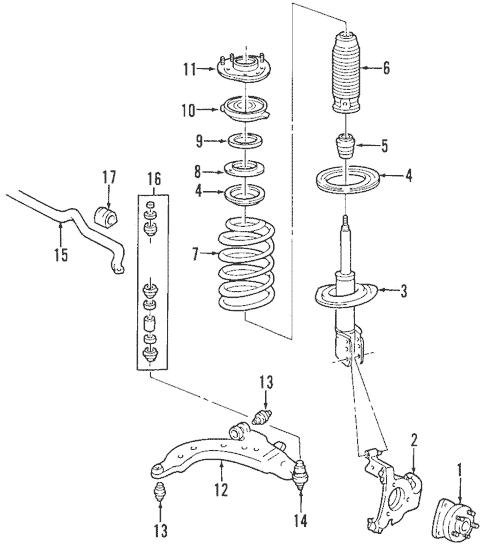 Suspension Components for 2006 Chevrolet Impala