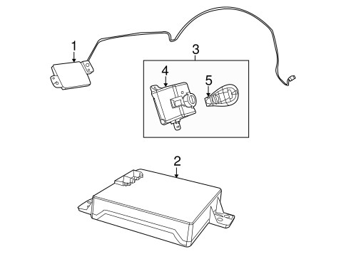 Keyless Entry Components for 2013 Dodge Challenger