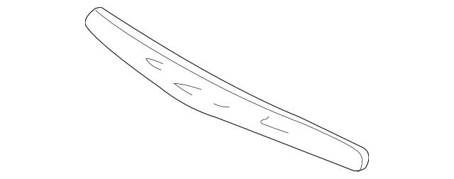 2002-2003 Acura TL SEDAN Absorber, Front Bumper 71170-S0K