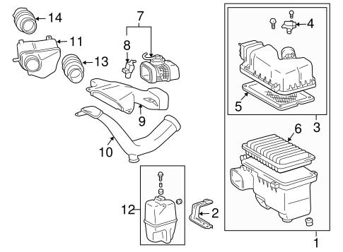 2006 Toyota Sienna Engine Diagram