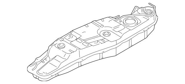 Genuine OEM Fuel Tank Part# MR342852 Fits 2001 Mitsubishi