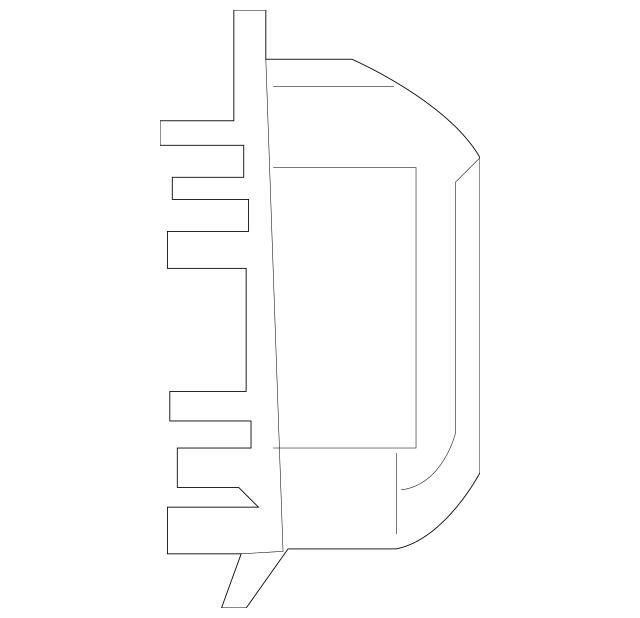 2014-2018 Mercedes-Benz Fuse Box 222-540-31-50