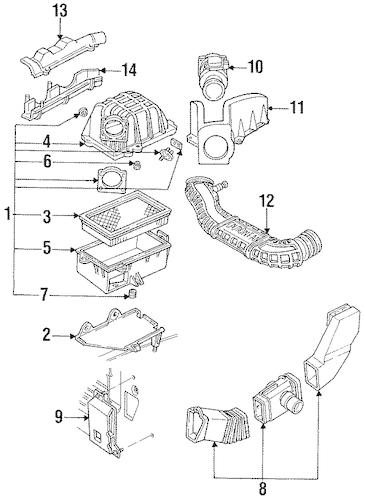 1990 Jeep Cherokee Pioneer Parts Diagram. Jeep. Auto