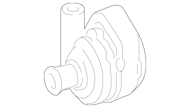 2010-2013 Mercedes-Benz S 400 Auxiliary Pump 221-500-02-86