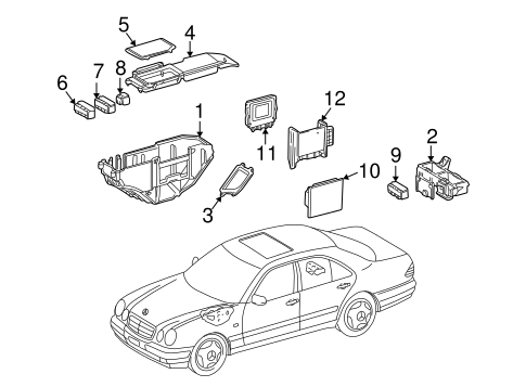Electrical Components for 1997 Mercedes-Benz E 420
