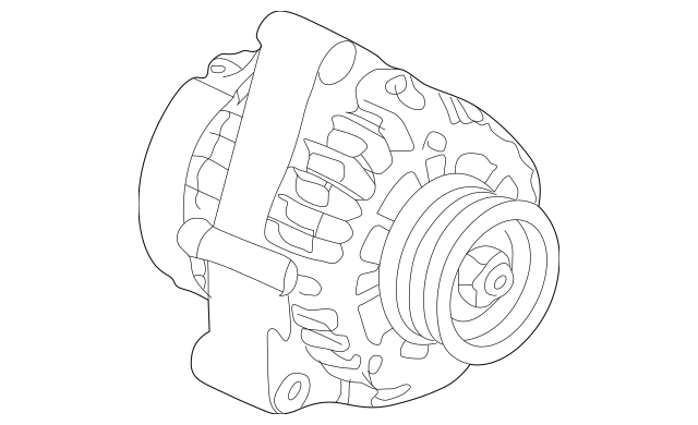 Honda Alternator (RMD) Core ID 31100-P8C-A02 06311-P8C-505