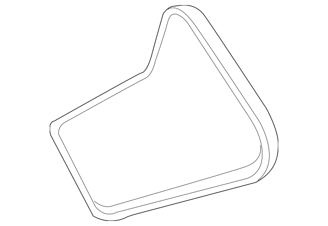 2009-2014 Acura Belt, Alternator (Bando) 31110-RJA-J01