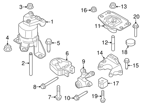 Lesabre Motor Mount Diagram Repalcement Parts And, Lesabre