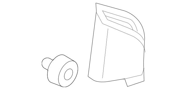 2012-2019 Chevrolet Sonic Upper Trim Panel 95372086
