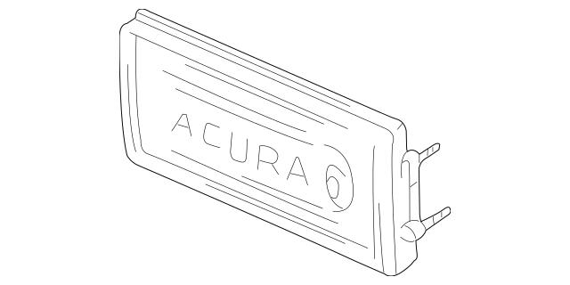 1991-2001 Acura NSX COUPE Panel Unit, Rear 75522-SL0-A02