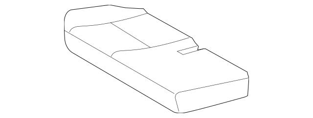 2010-2011 Toyota FJ Cruiser Cushion Cover 71075-35A33-E0