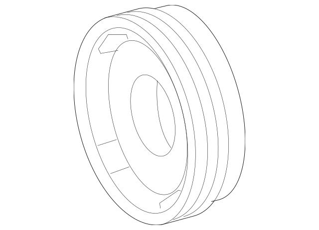 Mercedes-Benz OEM Vibration Damper Part# 272-030-08-03