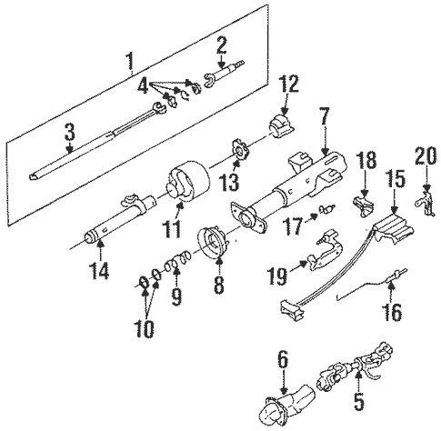 Ignition Lock for 1996 Oldsmobile Cutlass Supreme