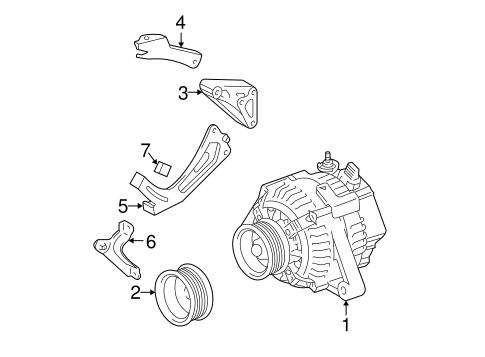 Genuine OEM Alternator Parts for 2006 Toyota Highlander