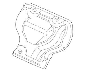 2002-2006 Honda CR-V 5-DOOR Cover, Ex Manifold 18120-PPA