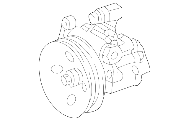 Mercedes-Benz Remanufactured Hydraulic Pump 002-466-81-01