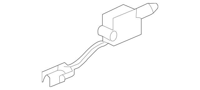1997-2004 Porsche Boxster Control Switch 996-624-117-00