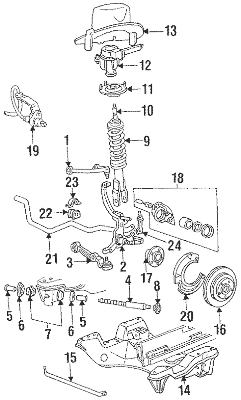 1997 Mercury Cougar Xr7 Engine Diagram