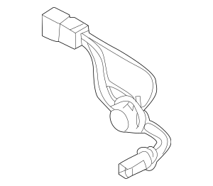Genuine OEM Socket & Wire Part# 92440-1M200 Fits 2010-2013