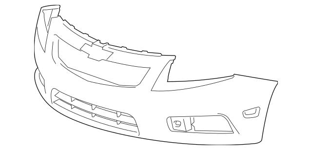 2011-2014 Chevrolet Cruze Bumper Cover 95217520