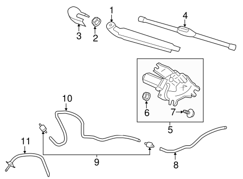 Wiper & Washer Components for 2018 Hyundai Elantra GT