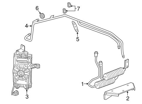 Trans Oil Cooler for 2016 Chevrolet Corvette