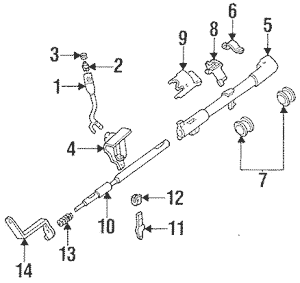 Ford F150 F250 F350 Bronco Automatic Transmission Gear