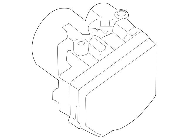 2013-2014 Nissan Pathfinder Actuator Assembly 47660-3KD2B