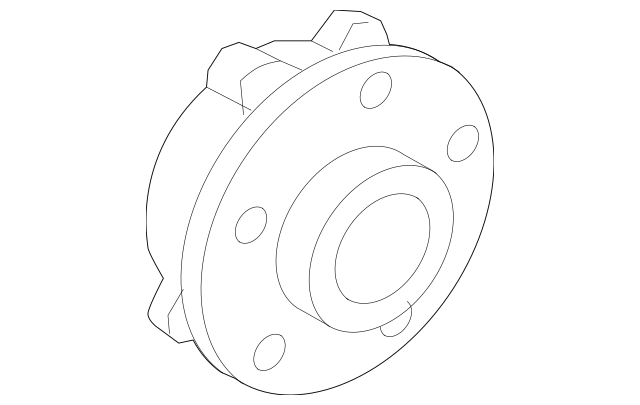 BMW Wheel Bearing Assembly (31-20-2-286-606) For Sale