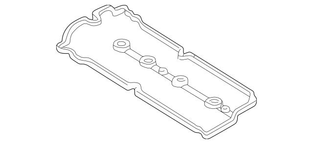 2001 Mazda Protege Engine Valve Cover Gasket ZL01-10-235A