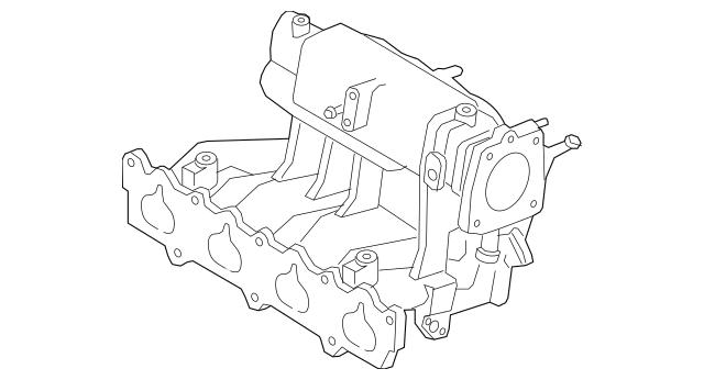 1999-2001 Mazda Protege Intake Manifold ZM03-13-100C
