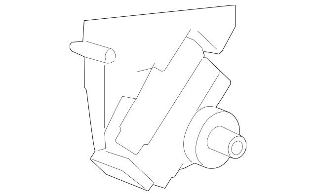 2008-2010 Saturn Vue Power Steering Pump 19369086