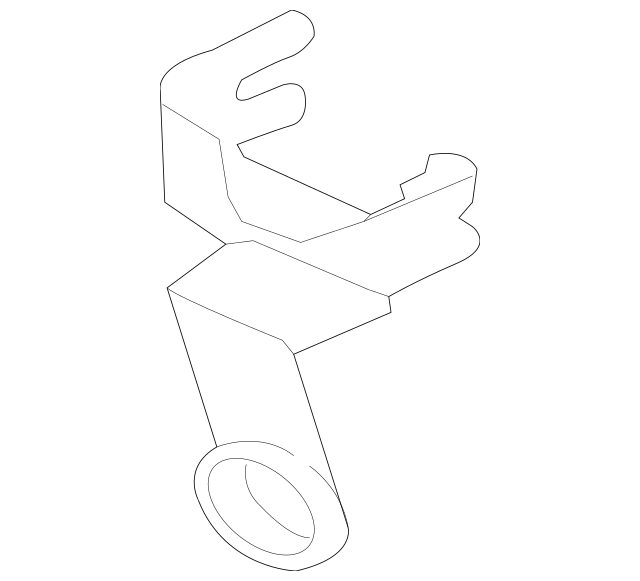 2015-2018 Audi Air Temp Sensor Bracket 8U0-820-536-A