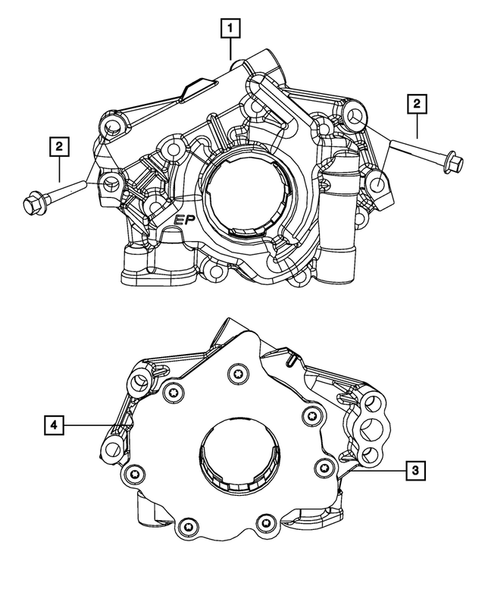 Engine Oiling, Oil Pan and Indicator (Dipstick) for 2010