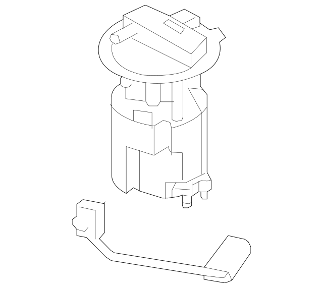 Nissan Fuel Pump Assembly (17040-1KM0B) For Sale