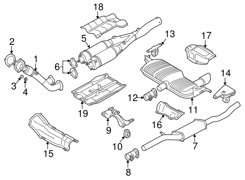 Audi 4 2 Engine Diagram Exhaust System. Audi. Auto Wiring