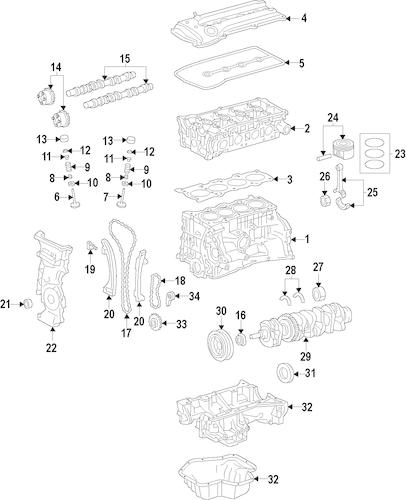 Oil Pump for 2013 Nissan Versa