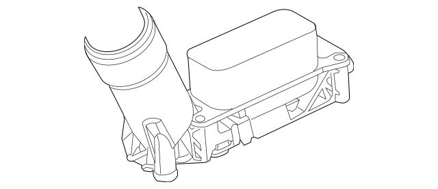 11-13 Jeep Dodge Chrysler 3.6L V6 ENGINE OIL COOLER FILTER