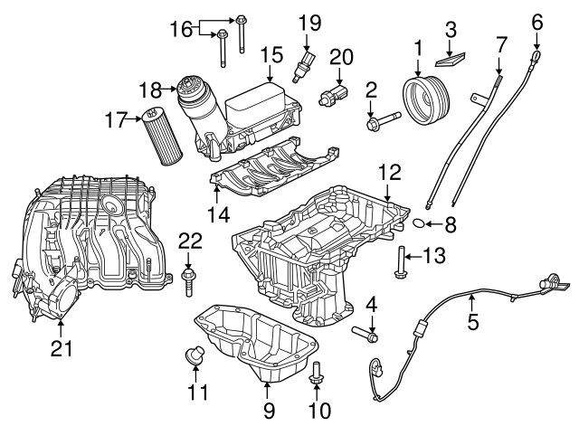 2010 Dodge Journey 2 4l Engine Parts Diagram Dodge 3.6L V6